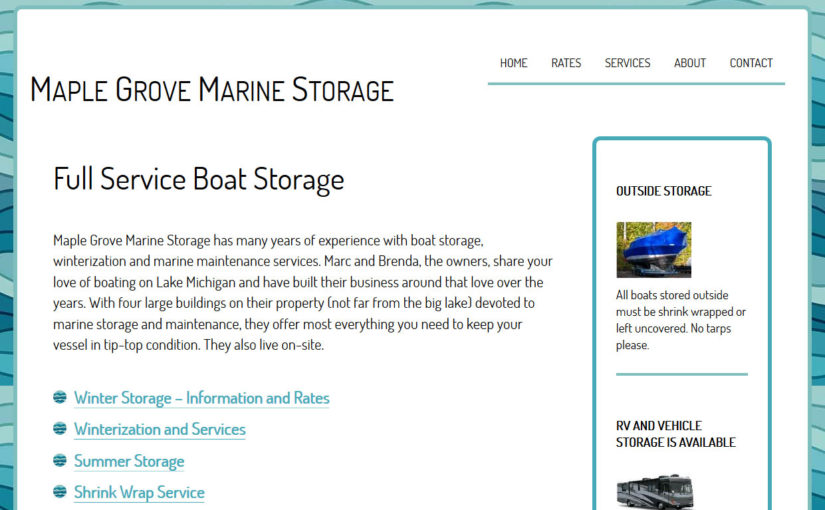 Maple Grove Marine Storage