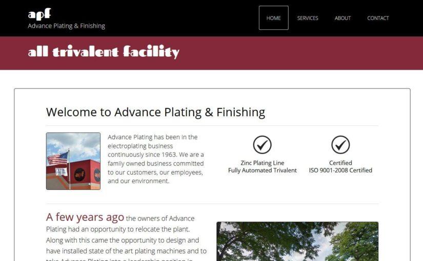 Advance Plating & Finishing