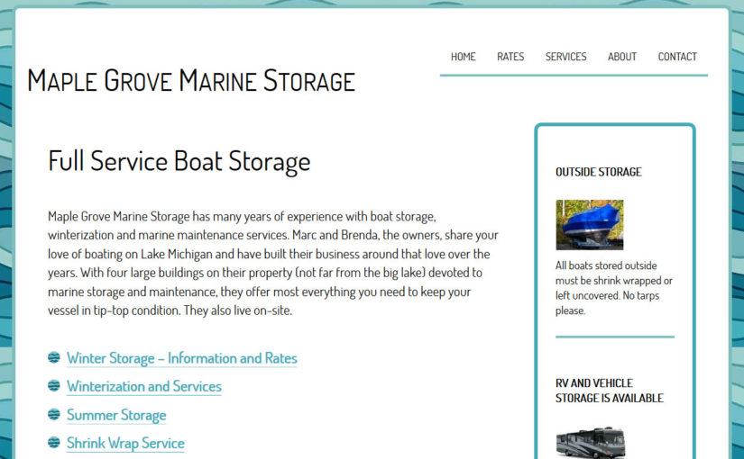 Maple Grove Marine Storage