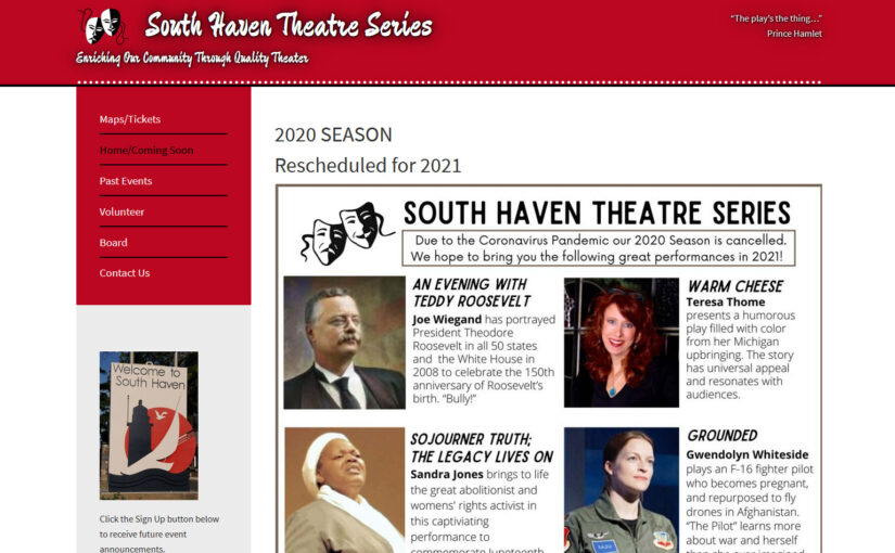 South Haven Theatre Series